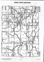 Sauk County Map Image 013, Juneau and Sauk Counties 1992